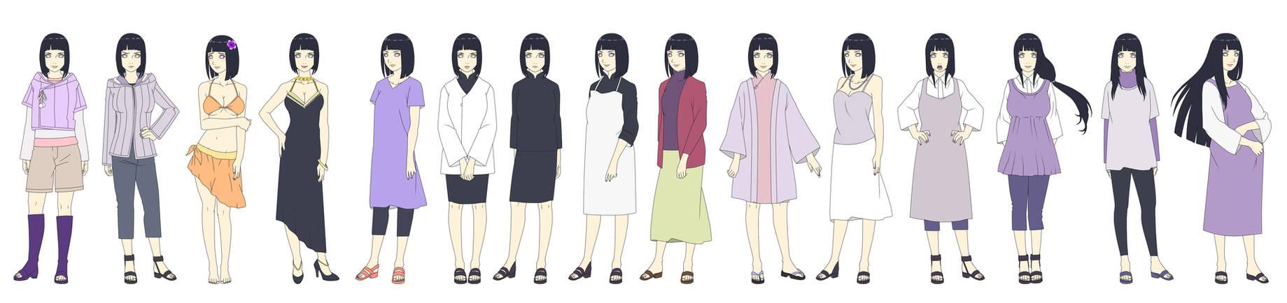 Hyuga Hinata New Era 2 Outfit Color