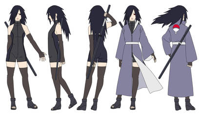 Mikoto Uchiha (12 years later) Color