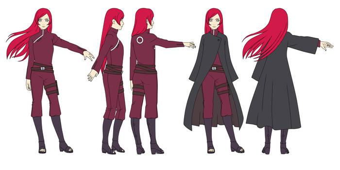 Sunaki Haruno (12 years later) Color