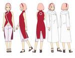 Sakura Haruno (32 years) Color