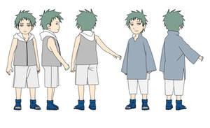 Akashi Hatake KxH child Color