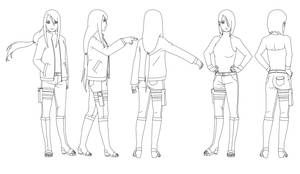 Kira Hatake (12 years later) Outlines