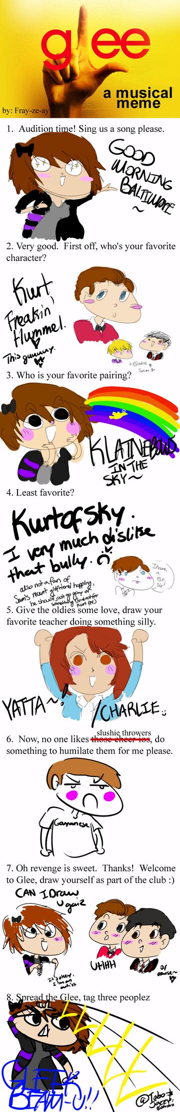 Glee Meme by inugirl289