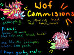 wof commsions! (open)