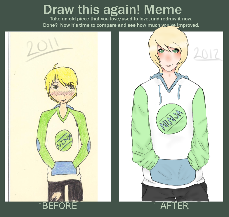 Draw this again! by aeletio