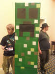 Katsucon 17: Minecraft Creeper by murkrowzy