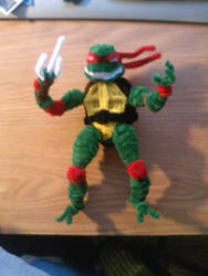 Pipe Cleaner Raph by spidersman1208