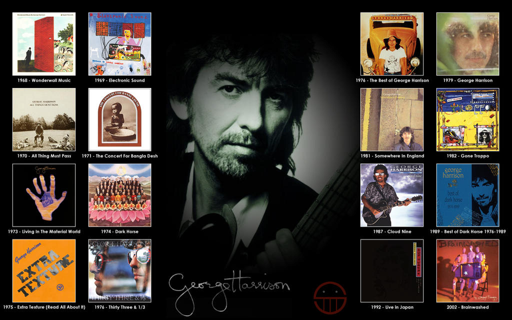 George Harrison Albums By 5ube