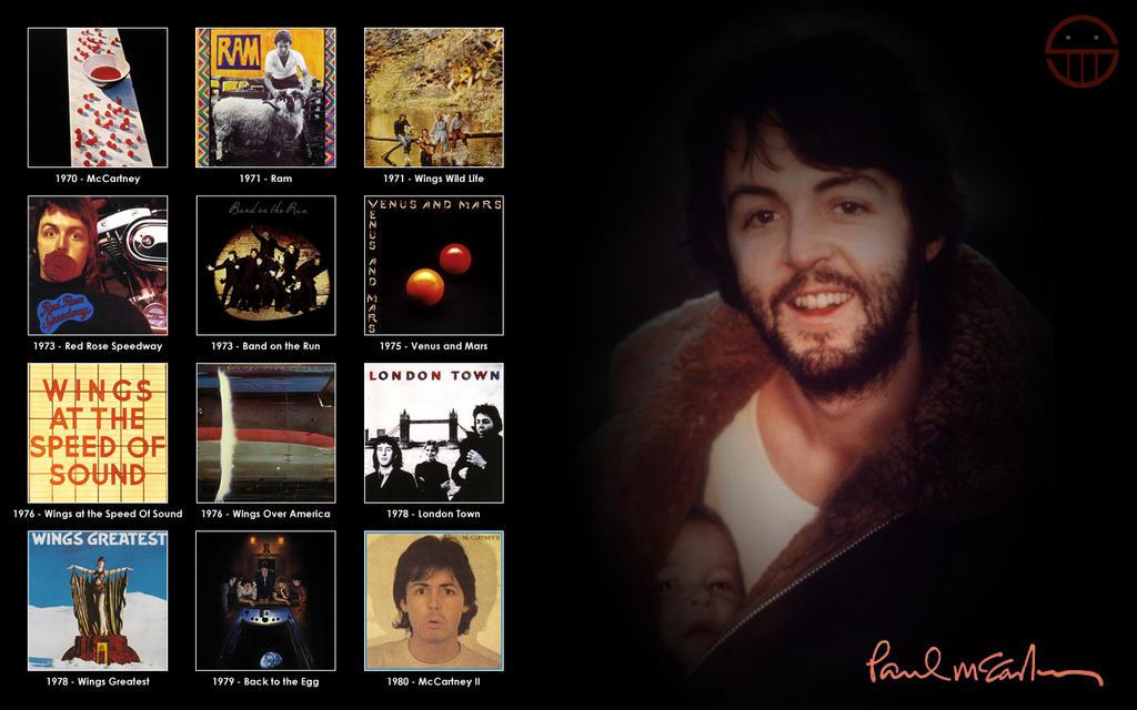 Paul McCartney Albums 1 by 5ube on DeviantArt