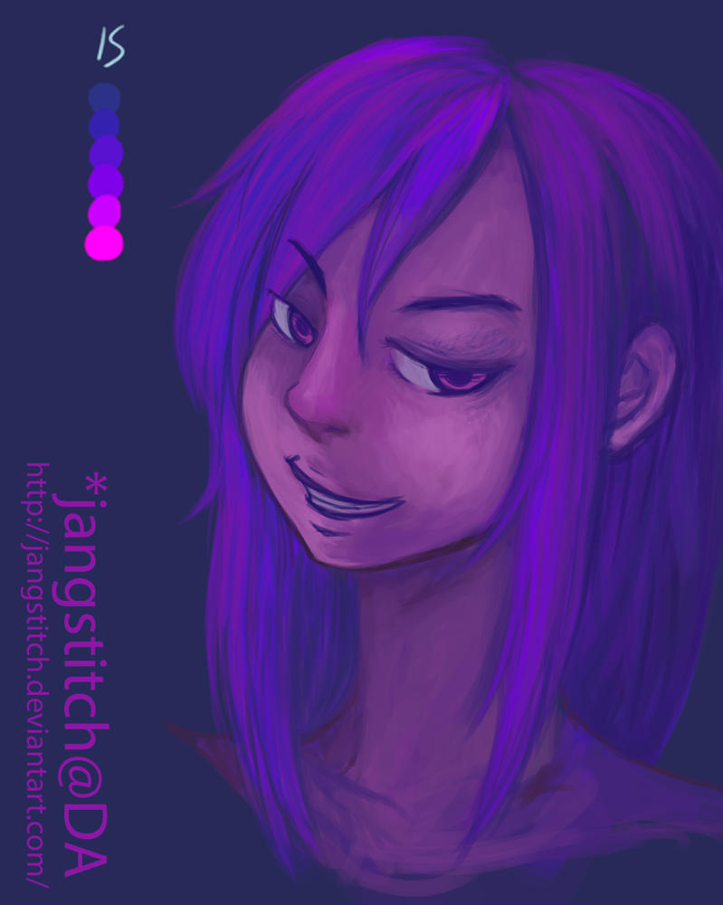 Colour Palette Challenge #6 Smirk by jangstitch