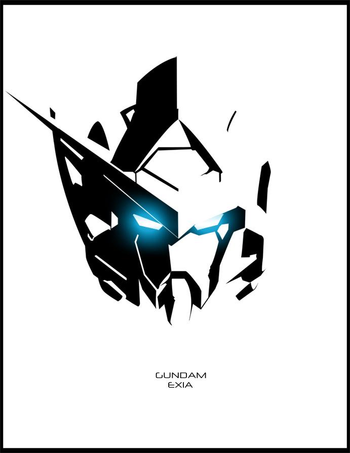 Gundam Exia by candyworx