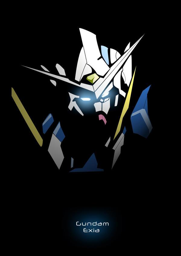 Gundam Exia ver.3 by candyworx