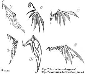 Wing's Tattoo by ChrisTais