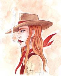 The badass cowgirl