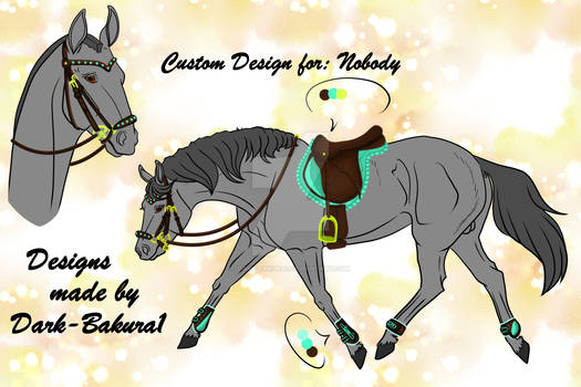 Tack Design 3 (Show Jumping) *FOR SALE*