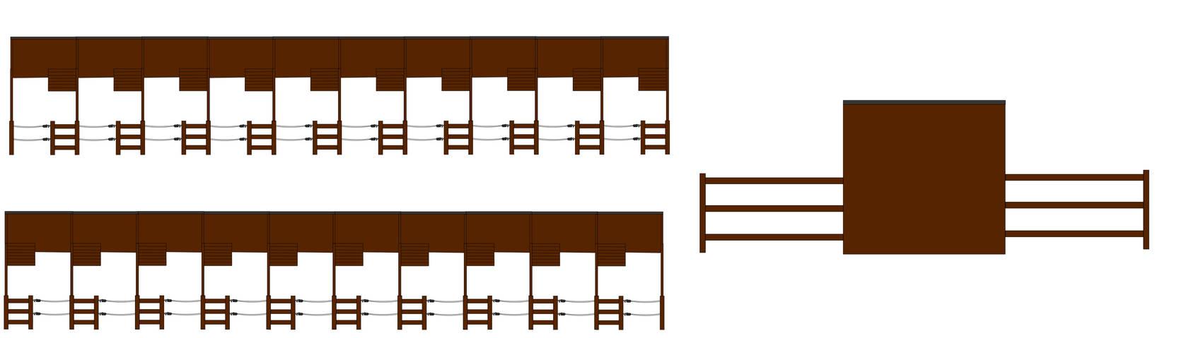 Paddockboxe's Open (with 20 Boxe's)