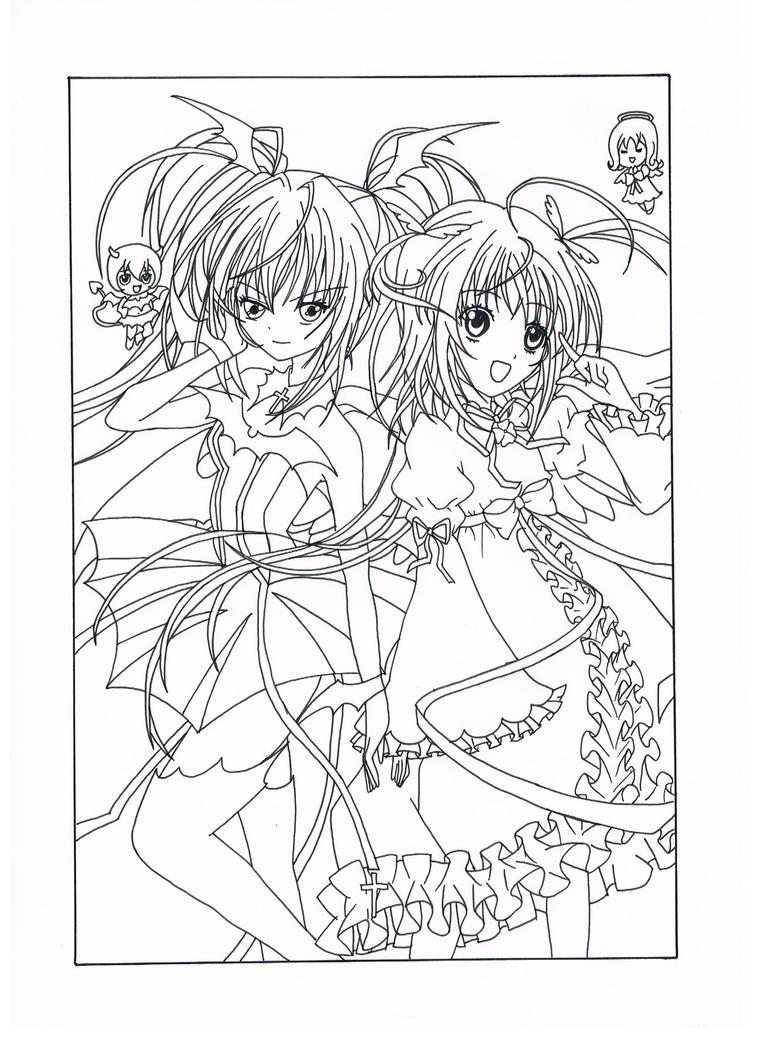 Dessin ange manga a imprimer dessin de manga - Imprimer manga ...