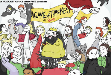 Cover Art - A Game of Thrones Drawing Project