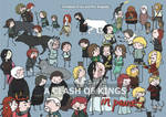 Cover Art - A Clash of Kings Drawing Project