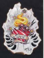 Burning Love by BettieBoner