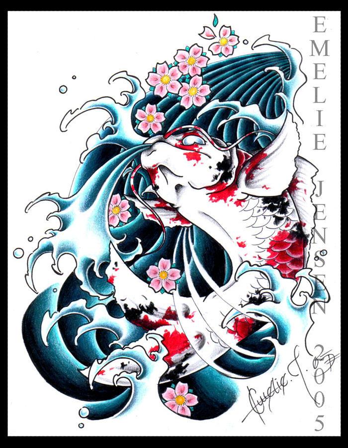 Japaneese Koi by BettieBoner