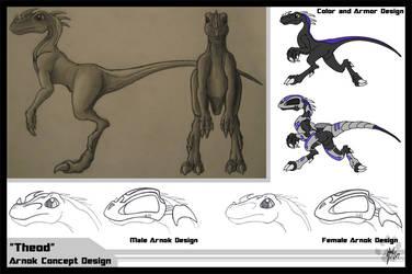 Arnok Design Sheet by Tusami