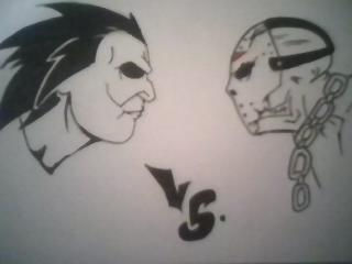 Michael Myers V Jason Voorhees By Serial Artist40