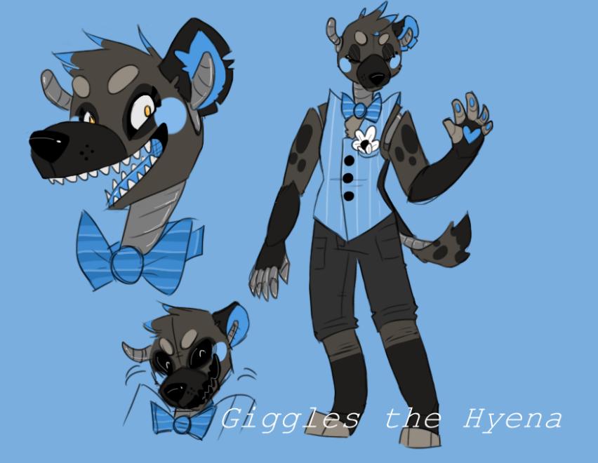 New Giggles Ref! by HunterNim