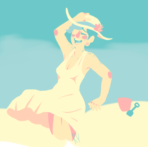 Beachtime by HunterNim