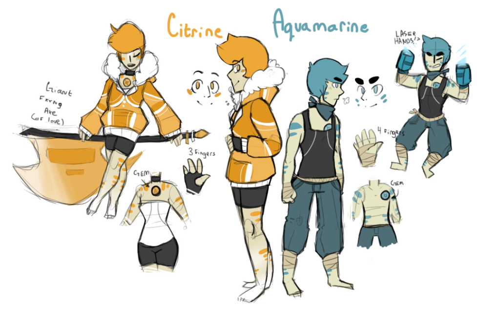 Gemsona revamp by HunterNim