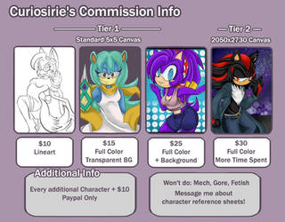 Commission Info - COMMISSIONS OPEN by curiosirie