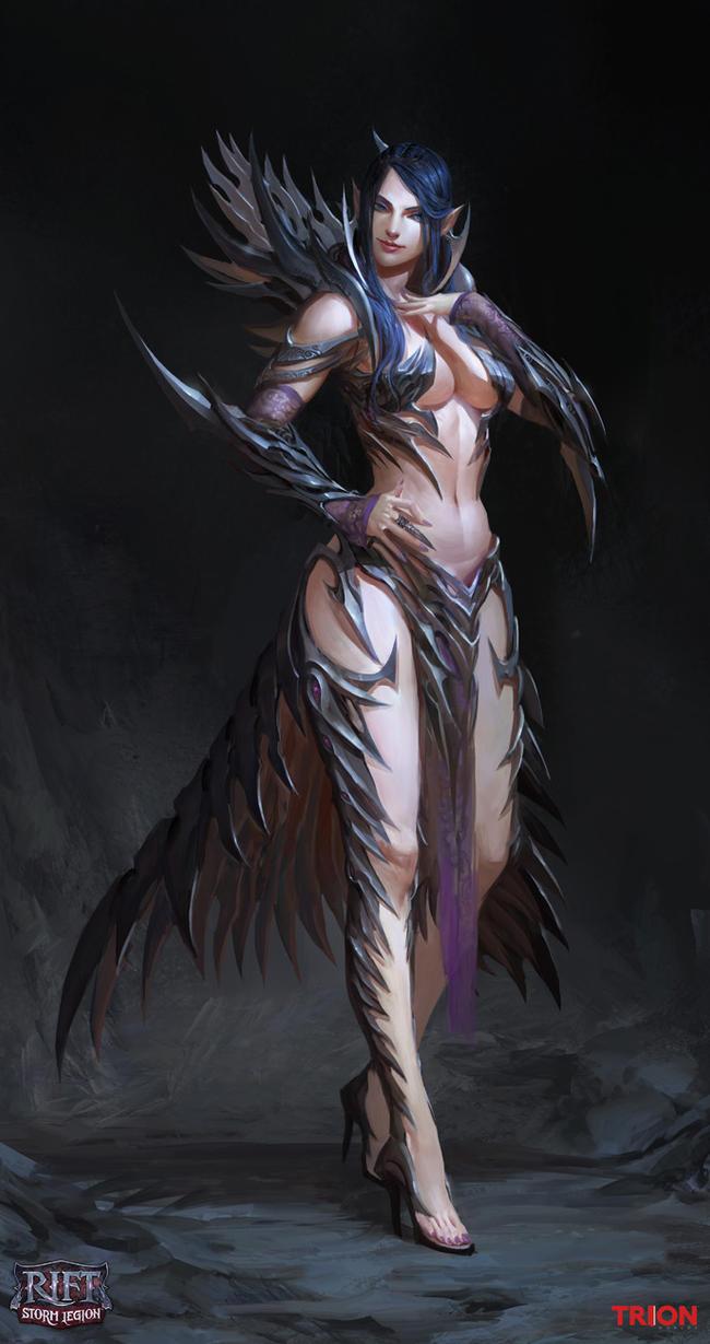 Crucia human form by openanewworld