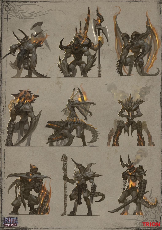 Fire Mob Flamesired Beast thumbnails