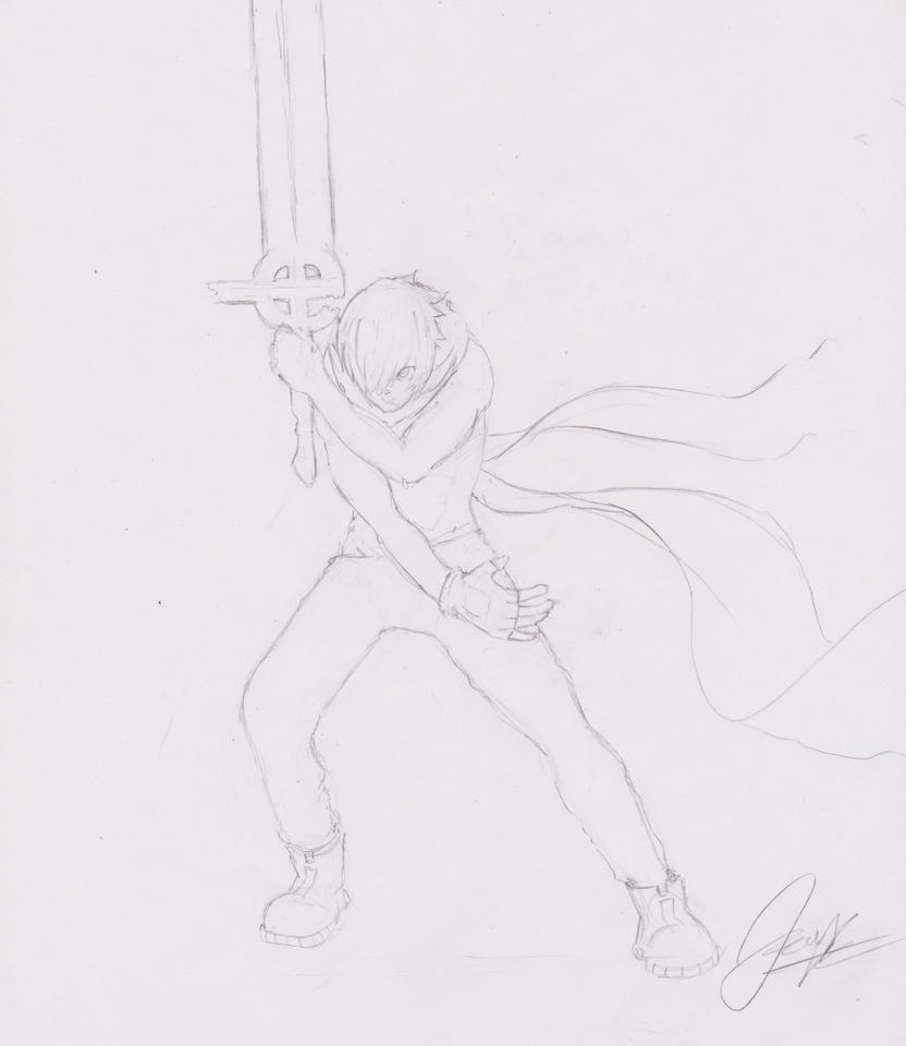 Lucius sketch by thejamfish