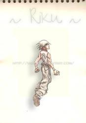 Riku - He had given into Light