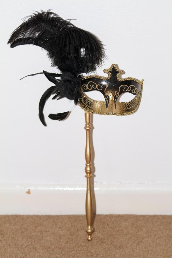 Venetian Mask by Skitsofrenika-Stock
