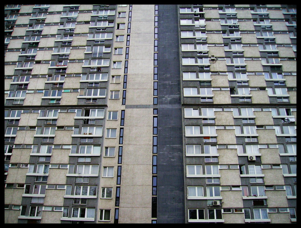 Block of flats. by TRWA
