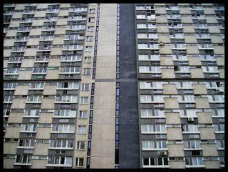 Block of flats. by TRWA