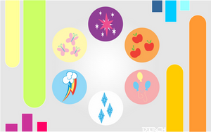 MLP Wallpaper Colors by MusicJump