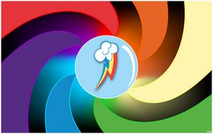 Rainbow Dash Wallpaper by MusicJump