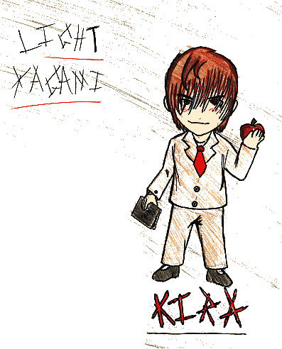 Related Keywords & Suggestions for light yagami chibi