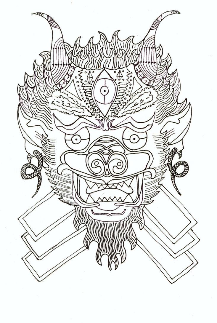 thai style tattoo by joelogue on deviantart. Black Bedroom Furniture Sets. Home Design Ideas