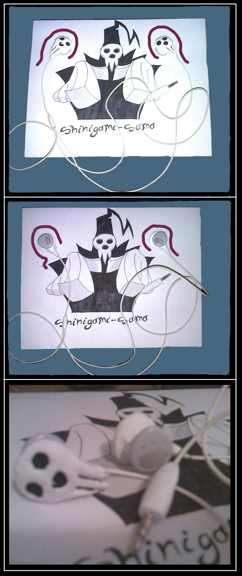 shinigami sama earphones