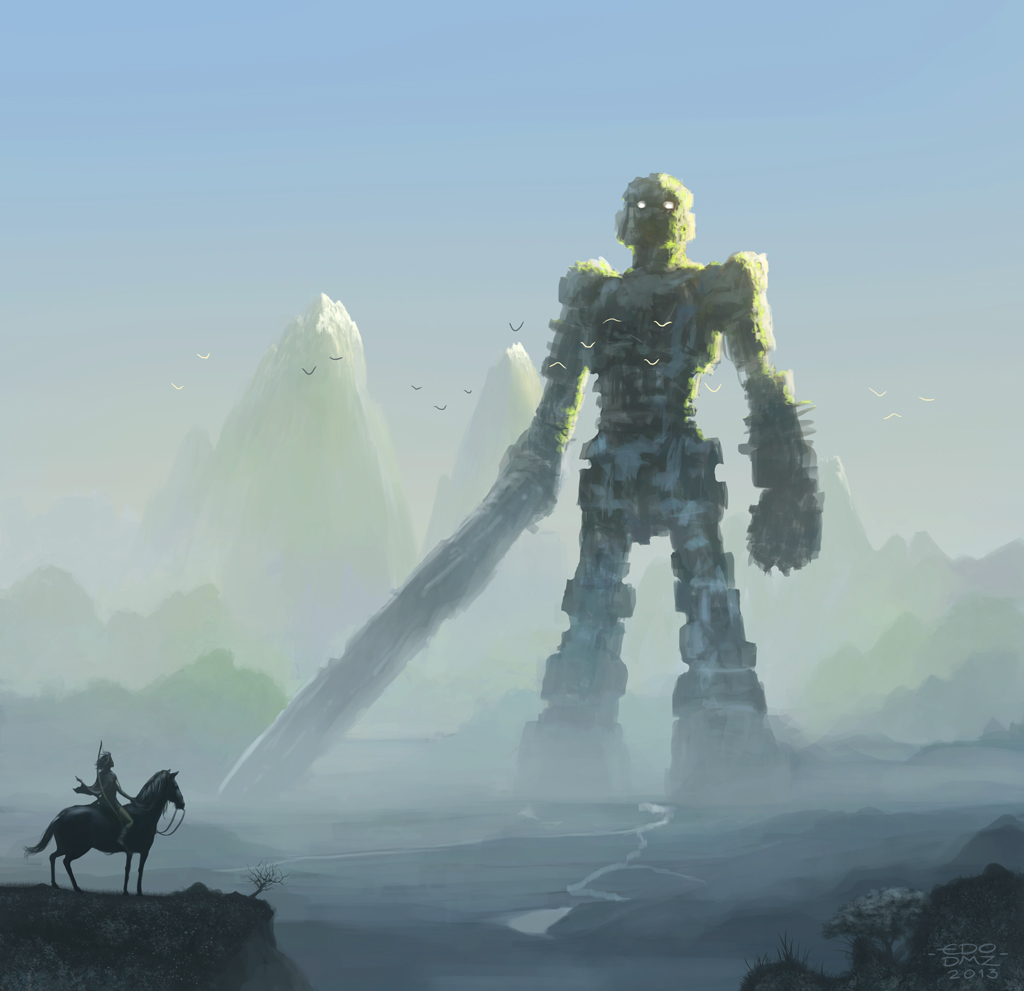 Shadow of the colossus by edsfox