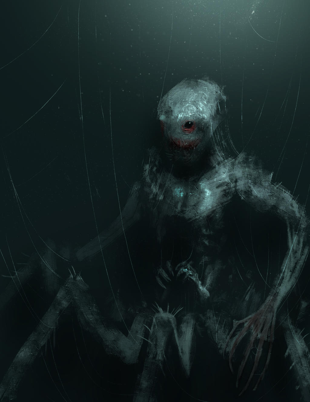 Spider demon by edsfox