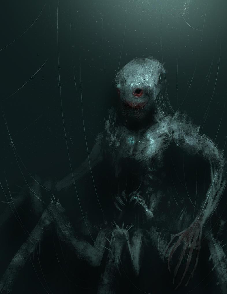 Spider demon by edsfox