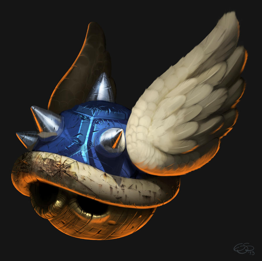 Blue Shell by edsfox