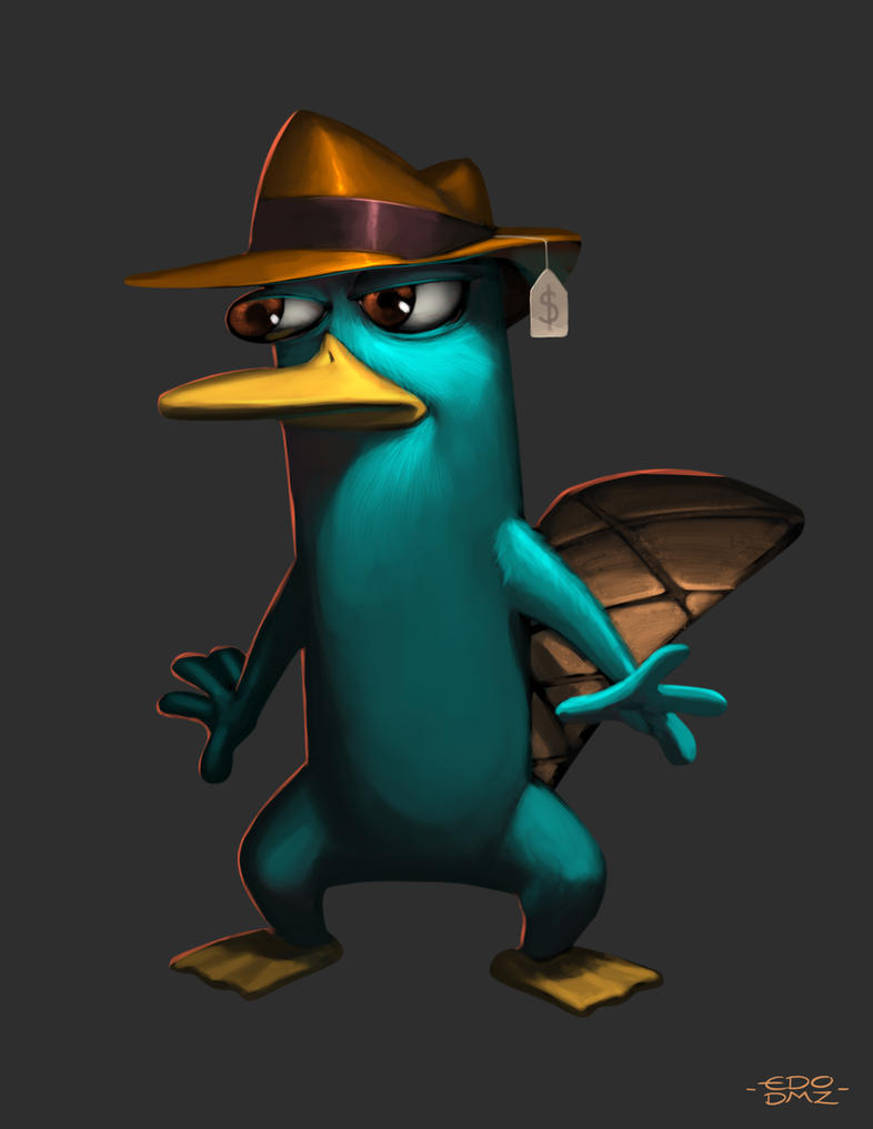 Perry Platipus by edsfox