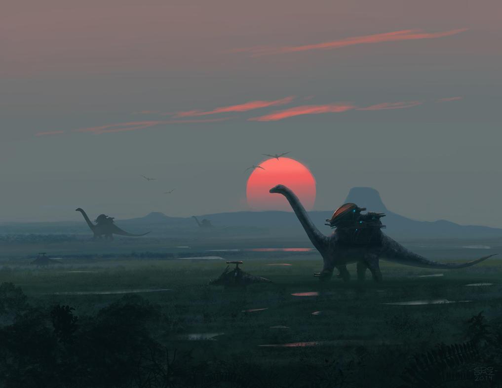 Morning Patrol by edsfox