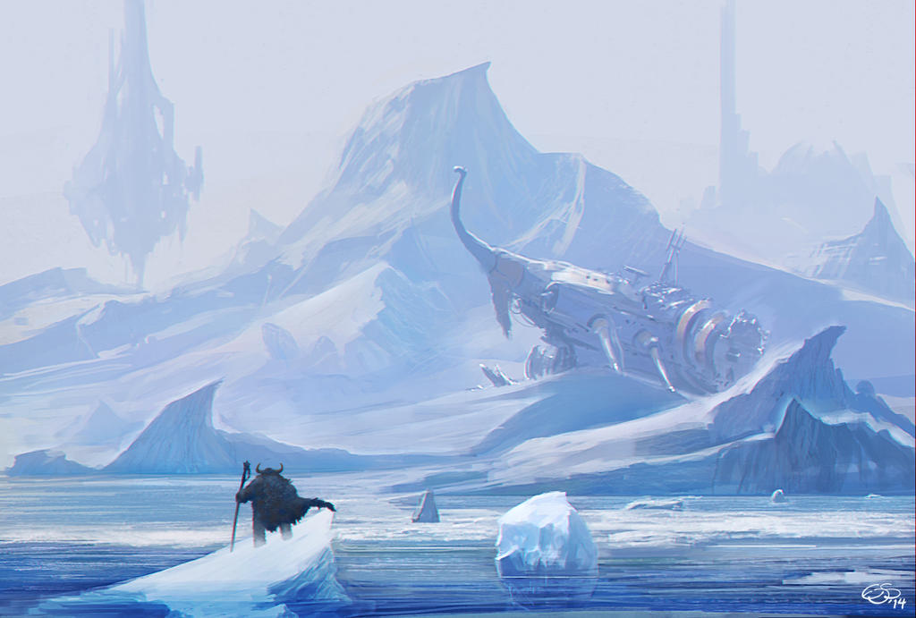 Viking Ship by edsfox